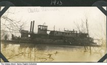 Image of Steamer Belle Vernon, Mount Vernon, Indiana, 1913