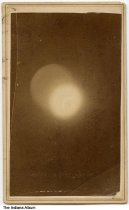 Image of Photo of an eclipse by a photographer from Terre Haute, Indiana, ca. 1890