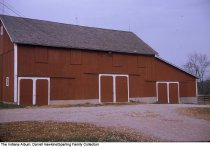 Image of Large barn on a farm, Wabash County, Indiana, ca. 1960 -