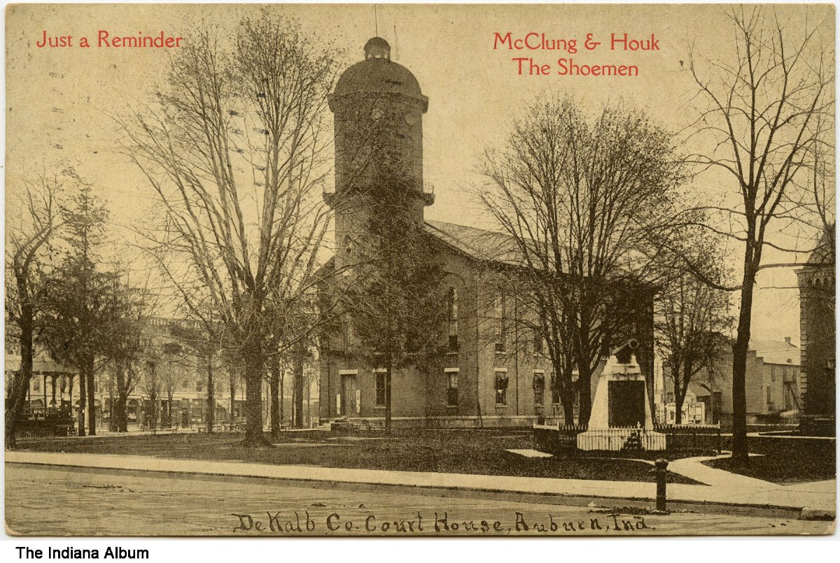 Magnificent Dekalb County Courthouse Auburn Indiana Circa 1911 Download Free Architecture Designs Scobabritishbridgeorg