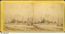 Image of Residence of H. E. Frys after an ice storm, LaPorte, Indiana, 1868