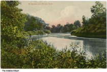 Image of St. Joe River, Fort Wayne, Indiana, ca. 1909 - Postmarked August 17, 1909.