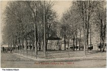 Image of Park Square, Oxford, Indiana, ca. 1910 - Postmarked September 15 1910.
