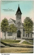 Image of Christian Chapel, Charlestown, Indiana, ca. 1910