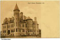 Image of High School, Frankfort, Indiana ca. 1910