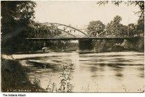 Image of Bridge over St. Joseph River, Bristol, Indiana, ca. 1909 - Postmarked September 23, 1909.