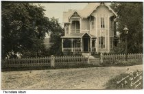 Image of Residence of J. R. Martin, Lewisville, Indiana, ca. 1910