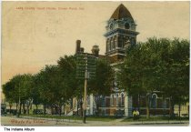 Image of Lake County Courthouse, Crown Point, Indiana, ca. 1910 -