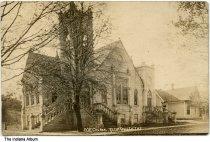Image of Methodist Episcopal Church, Ellettsville, Indiana, ca. 1910