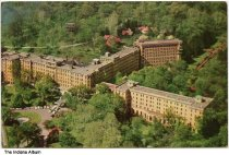 Image of Aerial view of French Lick Springs Resort, French Lick, Indiana, ca. 1955
