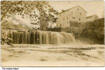 Image of Mill near Cataract Falls, Spencer, Indiana, ca. 1910 -