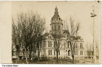 Image of Parke County Courthouse, Rockville, Indiana, ca. 1910