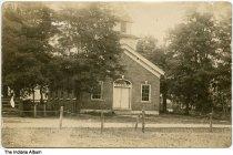 Image of Methodist Episcopal Church, Putnamville, Indiana, ca. 1910 -