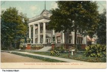 Image of Indiana State Soldiers' Home Commandant's House, Lafayette, Indiana, ca. 1910
