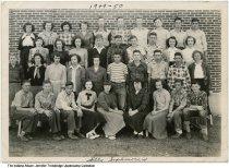 Image of Otwell High School sophomore class, Otwell, Indiana, ca. 1950