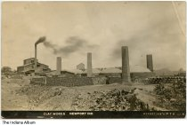 Image of Clay Works, Newport, Indiana, ca. 1910