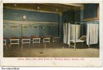 Image of Ladies' Mud Bath at Mudlavia Hotel, Kramer, Indiana, ca. 1910 -