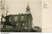 Image of Methodist Episcopal Church, Newburg, Indiana, ca. 1910