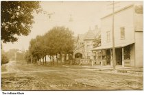 Image of Houses on North Main Street, Wolcottville, Indiana, ca. 1915