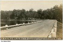Image of Francke Lake, Indiana State Forest, Henryville, Indiana, 1933