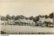 Image of Inspection at CCC Camp at Francke Lake, Henryville, Indiana, 1933