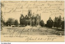 Image of Rose Orphans' Home, Terre Haute, Indiana, ca. 1905 - Postmarked April 24, 1905.