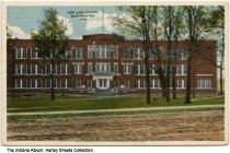 Image of High School, Bloomington, Indiana, ca. 1935