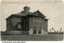 Image of Center High School, Knox, Indiana, ca. 1910