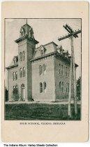 Image of High School, Cicero, Indiana, ca. 1905