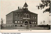 Image of High School, Culver, Indiana, ca. 1915