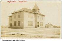 Image of High School, Dugger, Indiana, ca. 1910
