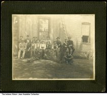 Image of Laborers, Goshen, Indiana, ca. 1900