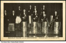 Image of Renold Young and his Orchestra, East Chicago, Indiana, ca. 1942 - Postmarked May 19, 1942.