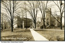 Image of Tri-State College campus, Angola, Indiana, ca. 1915 -