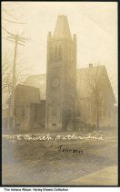 Image of Methodist Episcopal Church, Butler, Indiana, ca. 1910 -