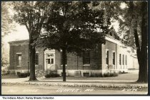 Image of Post Office, Ligonier, Indiana, ca. 1910 -