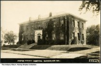 Image of Jasper County Hospital, Rensselaer, Indiana, ca. 1920 -