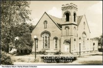 Image of Christian Church, Shoals, Indiana, ca. 1915 -