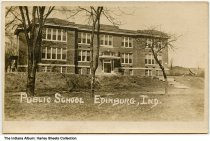 Image of Public School, Edinburgh, Indiana, ca. 1910