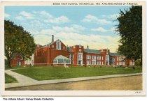 Image of Bosse High School, Evansville, Indiana, ca. 1940 -