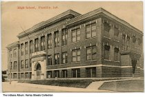 Image of High School, Franklin, Indiana, ca. 1916