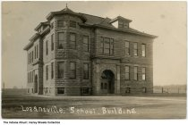 Image of Losantville School, Losantville, Indiana, ca. 1910 -