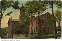 Image of Madison High School, Madison, Indiana, ca. 1912 - Postmarked October 16, 1912.