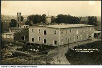 Image of Morgantown Packing Company, Morgantown, Indiana, ca. 1915 - Postmarked July 22, 1915.