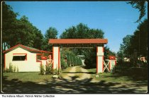 Image of Grand View Cottages on Bass Lake, Knox, Indiana, ca. 1955 - Copyright 1955. The manager at the time was J. H. Tomal.