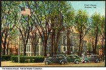 Image of Elkhart County Courthouse, Goshen, Indiana, ca. 1940