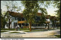 Image of Hill-Kohn Sanitarium, Martinsville, Indiana, ca. 1911 - Postmarked December 16, 1912.