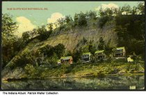 Image of Blue Bluffs near Martinsville, Indiana, ca. 1916 - Postmarked August 22, 1916.