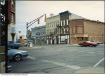 Image of Buildings in the 200 East block of Main Street, Greensburg, Indiana, 1987