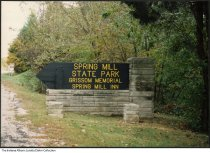 Image of Gatehouse at west entrance of Brown County State Park, Nashville, Indiana, 1987 -
